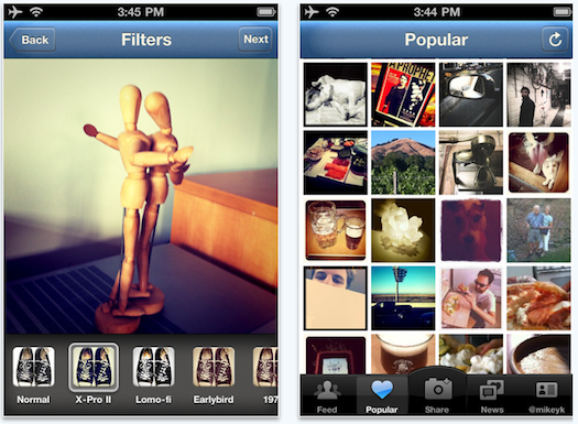 iphone, app, instagram