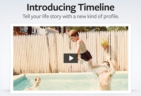 timeline, facebook